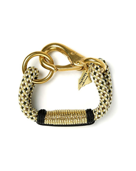 cape elizabeth black and gold bracelet