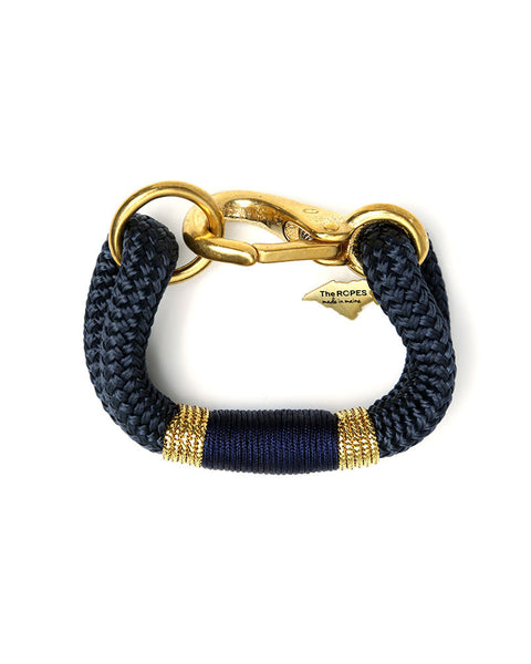 navy on navy ropes bracelet maine