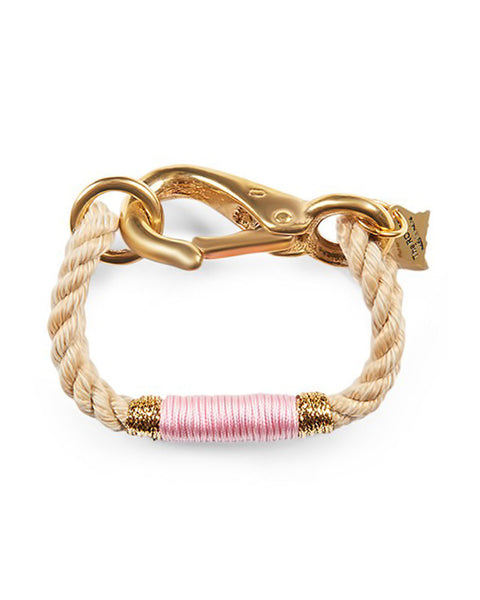 The Ropes Maine Pink Rope Bracelet