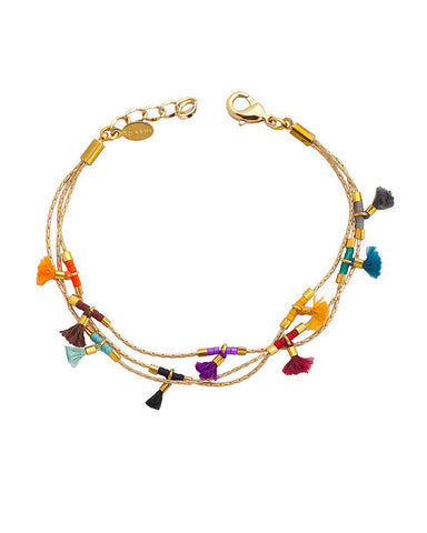 gold olivia bracelet from Shashi