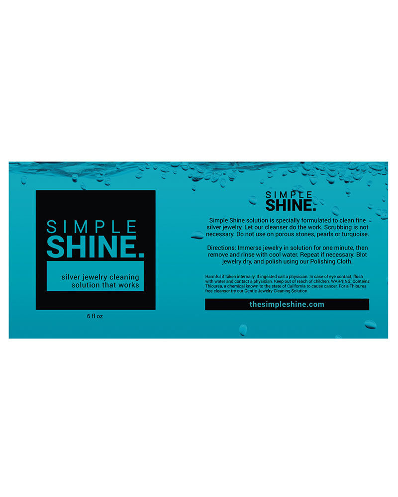 Simple Shine Silver Jewelry Cleaning Solution