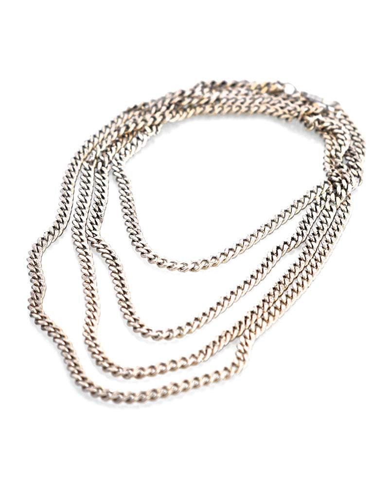 Silver Olatz Necklace Gina Cueto