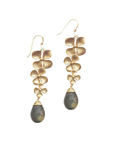 Sirissima Garland Labradorite Earrings