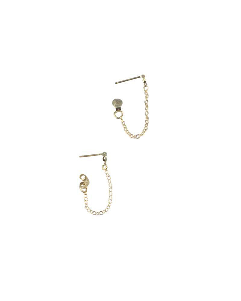 Gold Small Chain Earrings