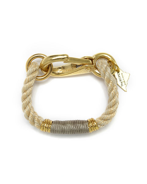natural gold taupe bracelet womens jewelry the ropes new