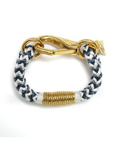 white gold bracelet the ropes womens jewelry stylish braid
