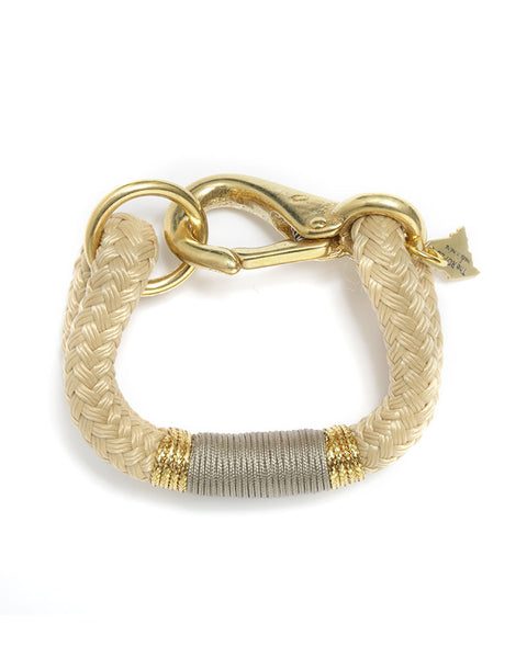 gold taupe natural designer womens bracelet jewelry