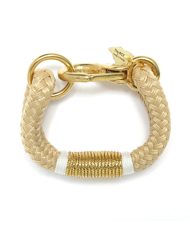 natural white gold womens bracelet the ropes designer new stylish just in