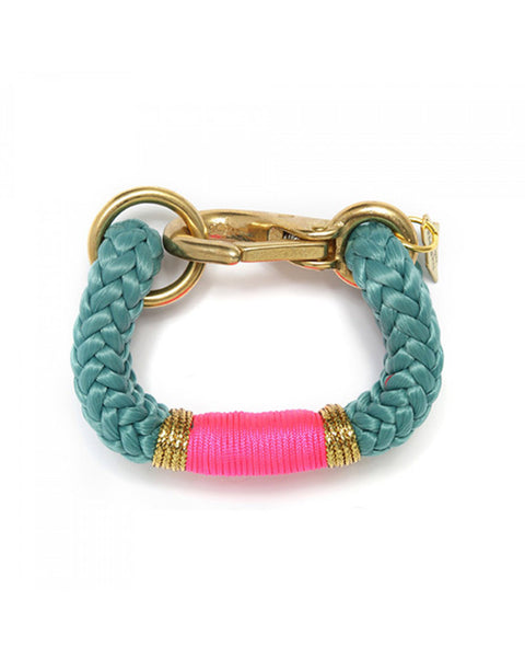 teal pink gold womens bracelet designer the ropes jewelry