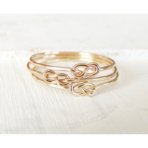 Infinity Knot Ring-Ring-LUXURING