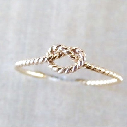 Love Knot Ring-Ring-LUXURING