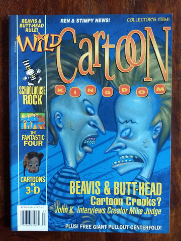 Wild Cartoon Kingdom Magazine Issue March 1994: John K. Interviews Mike Judge
