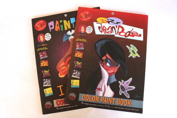 Spumco Dr. Jean Poole Color Paint Book