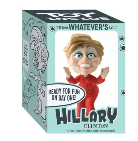 Hillary Clinton Political Toy by John K.