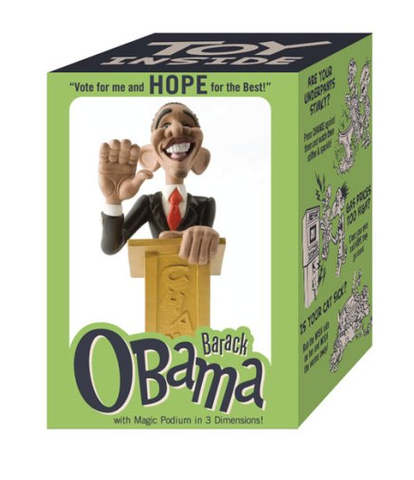 Barack Obama Political Toy Designed by John K.