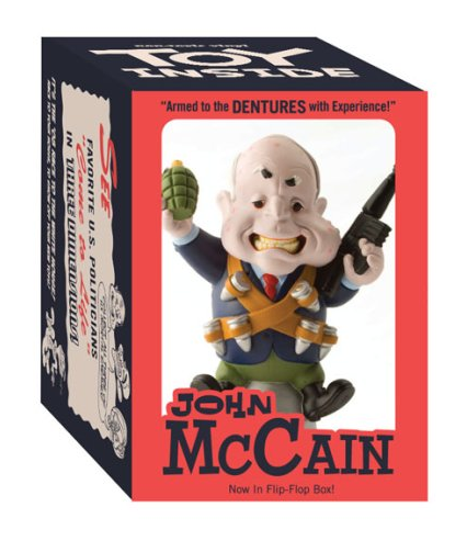 John McCain Political Toy Designed by John K.