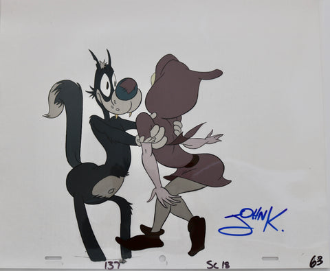Original Cel from Nike Advertisement by Spumco