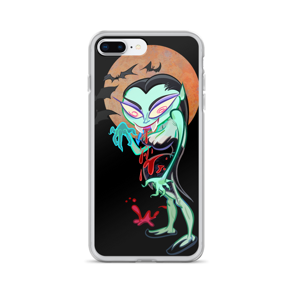 Vampire Gal iPhone Case