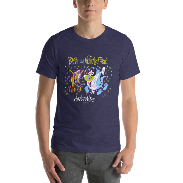 Blen and Kubercheebie Short-Sleeve Unisex T-Shirt
