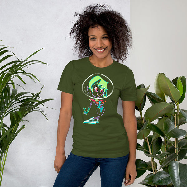 T Shirt: Future Girl - Short-Sleeve Unisex T-Shirt