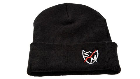 S&M Shield Peak Beanie