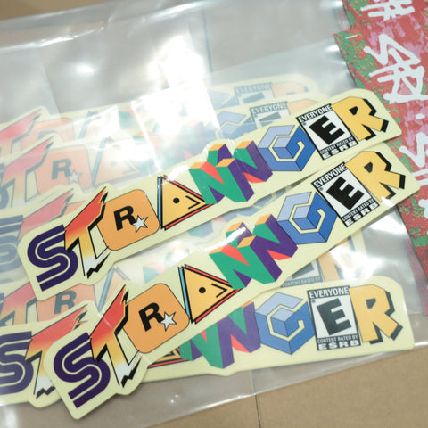 Stranger RPG Frame Sticker Kit
