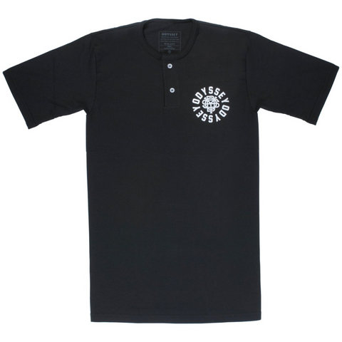Odyssey Central Henley T-Shirt