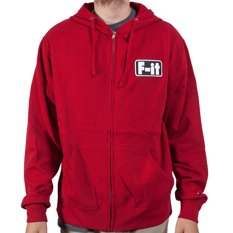Fit F-IT Hoodie Red Heather
