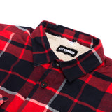 Doomed Plaid Lad Sherpa Shirt
