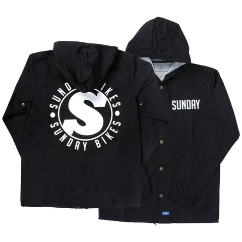 Sunday Badge Hooded Coaches Jacket