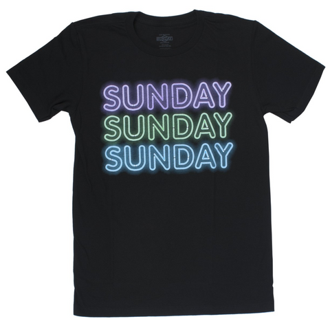 Sunday Neon Icon T-Shirt