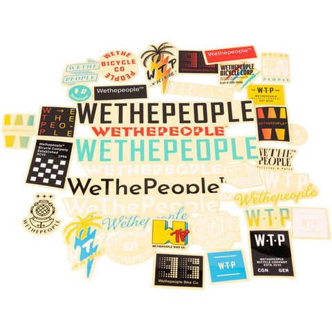 We The People Assorted Sticker Pack