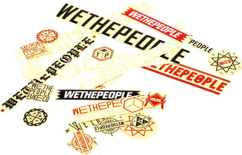 We The People Sticker Pack