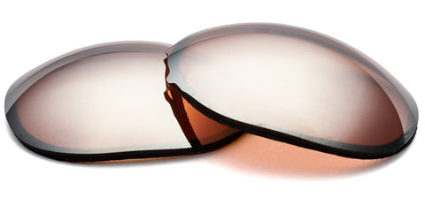Orange contrast enhancing lenses by ZEISS with silver mirror.
