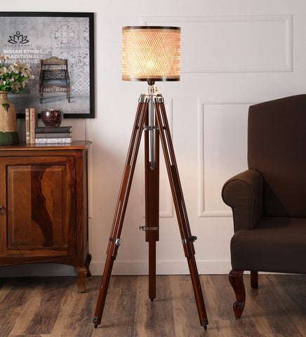 Decorative Tripod Floor Lamp (Large)