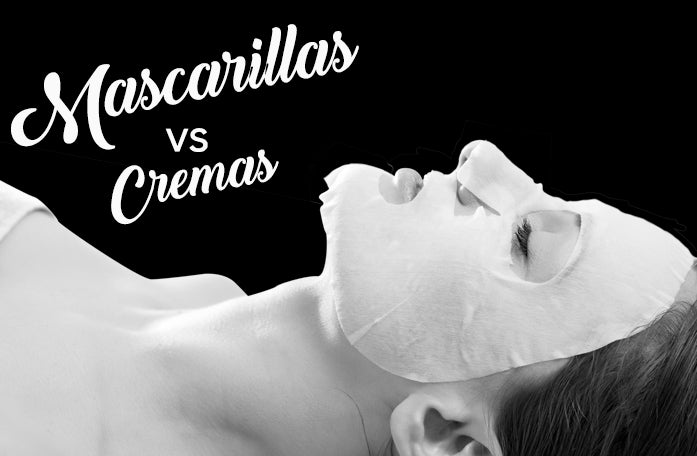 Mascarillas vs Cremas