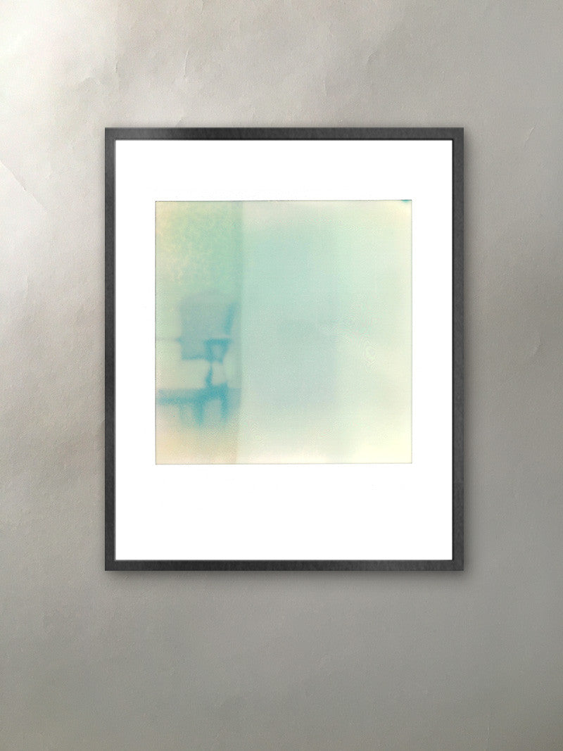 Ghost Chair Mineralized Collection Polaroid Photographic Print Italianate Chair Framed