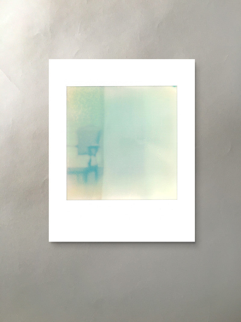 Ghost Chair Mineralized Collection Polaroid Photographic Print Italianate Chair Unframed
