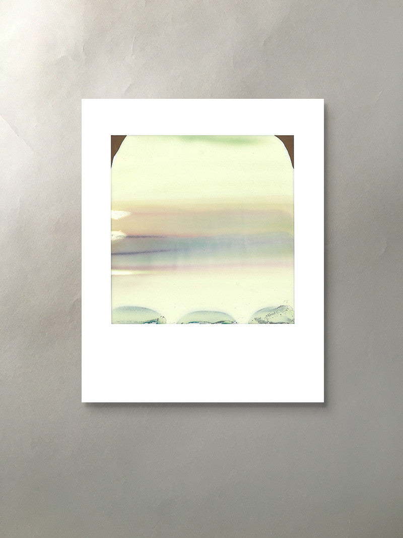 Mineral Dune Mineralized Collection Polaroid Photographic Print Unframed