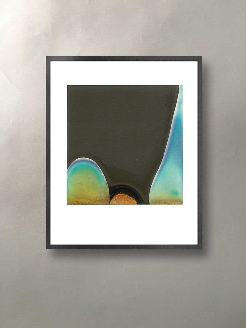 Mineral Expression Mineralized Collection Polaroid Photographic Print Framed