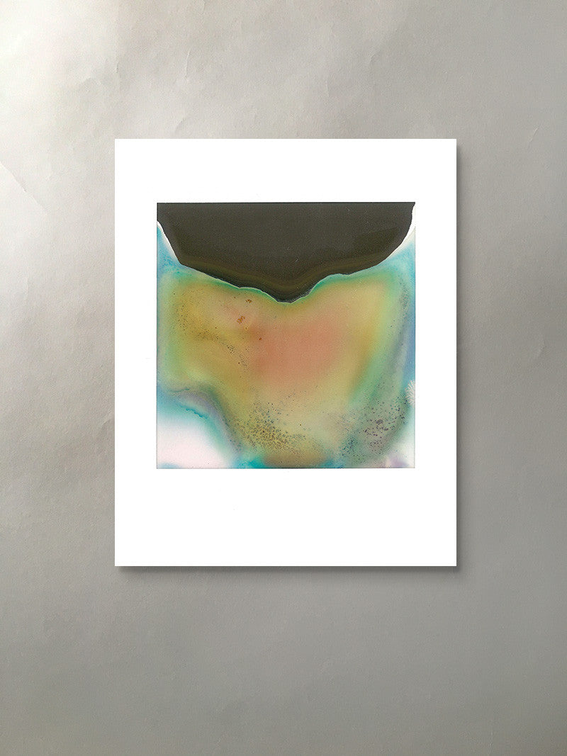 Mineral Expression II Mineralized Collection Polaroid Photographic Print Unframed