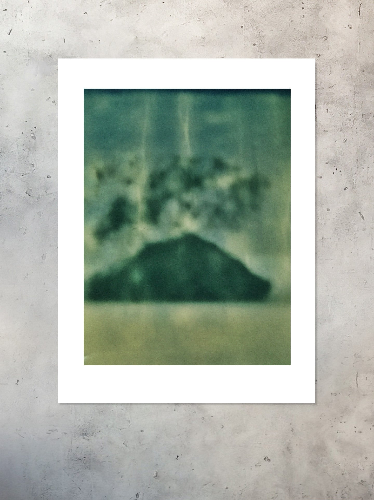 Volcanic Balance Stacked Collection Polaroid Photographic Print Unframed