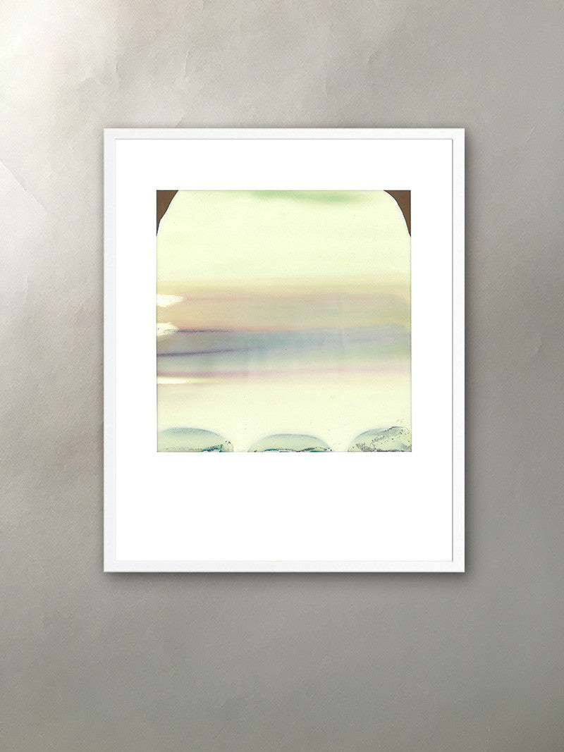 Mineral Dune Mineralized Collection Polaroid Photographic Print Framed