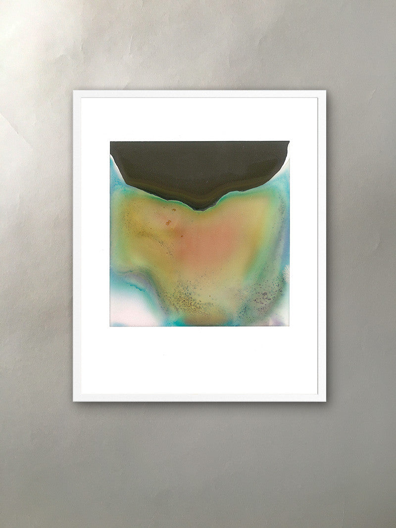 Mineral Expression II Mineralized Collection Polaroid Photographic Print Framed