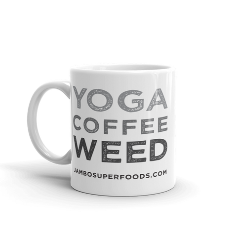 Yoga Coffee Weed - Coffee Mug