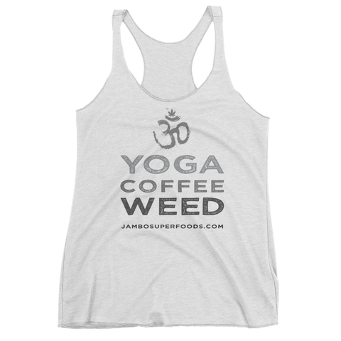 Copy of Yoga Coffee Weed - Women's Tank