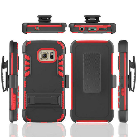 Armor TPU Back Cover Case for Samsung Galaxy S7/S7 Edge - CELLRIZON