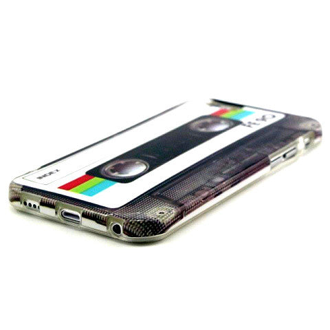 Retro Cassette TPU Case for iPhone 6 Plus 5.5''/6s 4.7'' - CELLRIZON