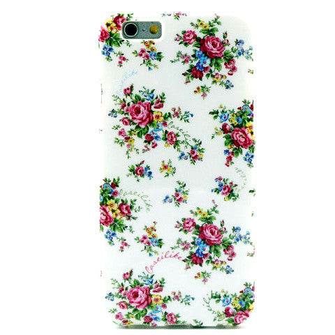Floral Soft TPU Case for iPhone 6 Plus - CELLRIZON