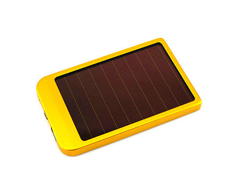 2600mah Panel Solar Power Bank - CELLRIZON